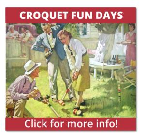 Croquet Fun Days - Click for more info!