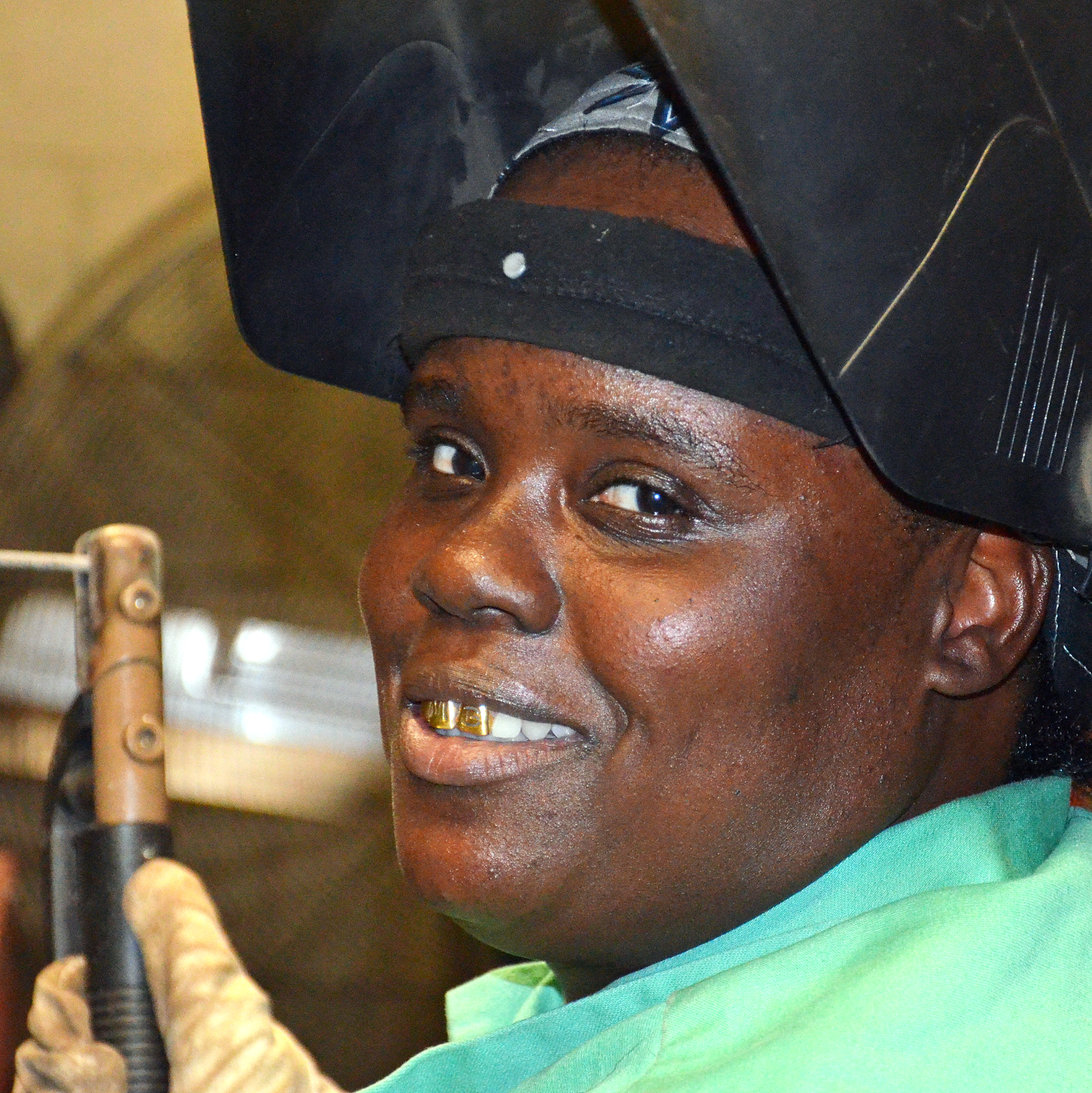 Students build dreams through welding class